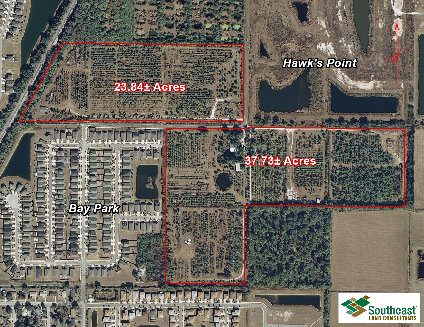 $3 million land sale